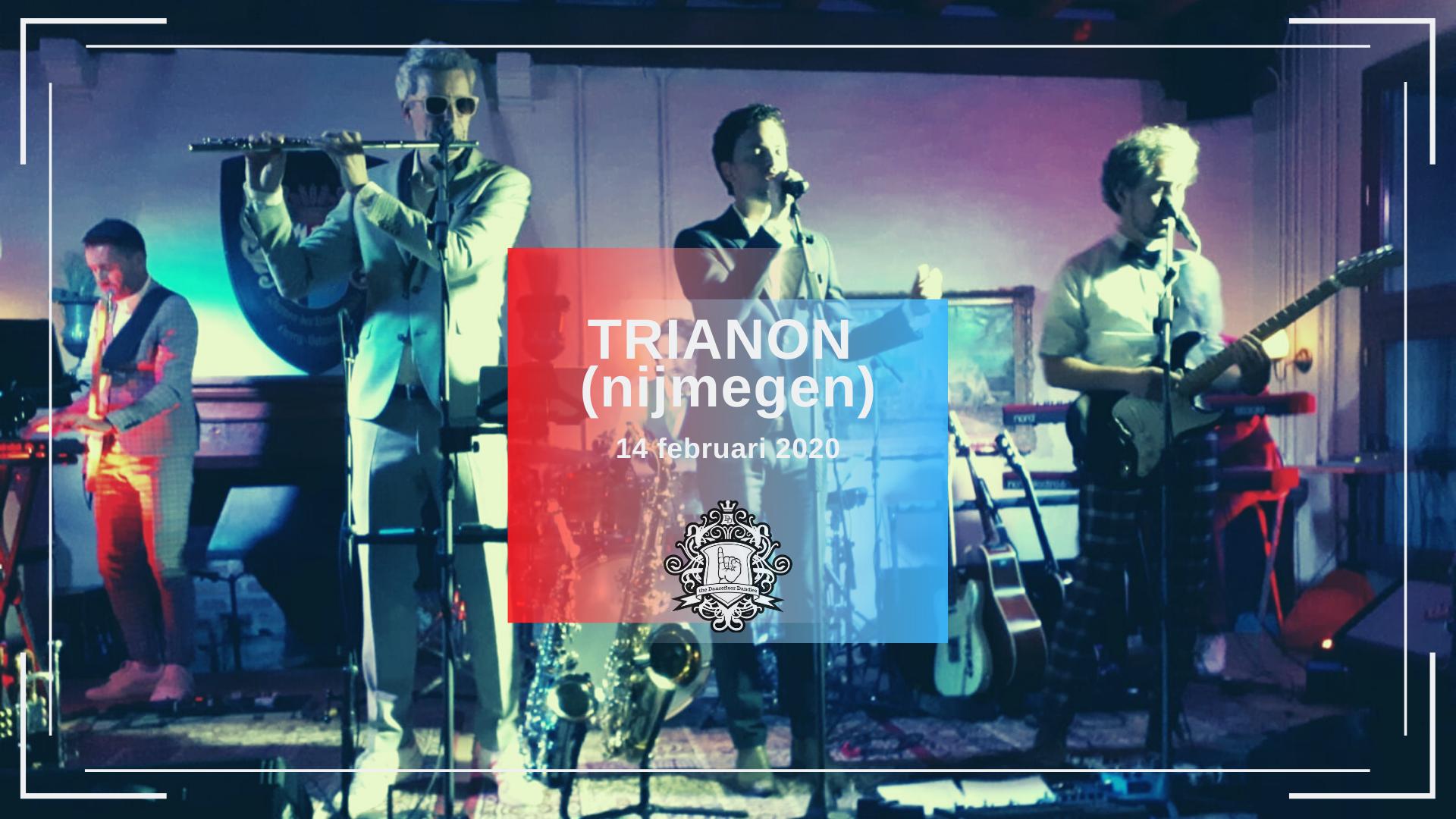 14 febr 2020 - Trianon - coverband the Dancefloor Dandies - feest met blazers